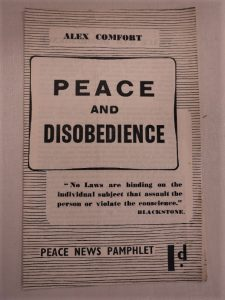 From the Commonweal Archives [https://www.bradford.ac.uk/library/special-collections/collections/commonweal-archives/]: Peace News Archives [https://www.bradford.ac.uk/library/special-collections/collections/archives-of-peace-news/]