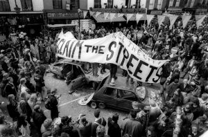 Reclaim The Streets. Image credit: Laboratory of Insurrectionary Imagination (archive)