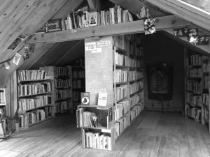Library at la ZAD. Image credit: zadforever.blog