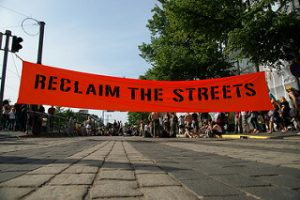 Reclaim the Streets. Source [https://www.flickr.com/photos/mardytardi/3637948613]