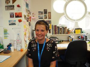Sarah Bartey, Marketing and Press Assistant at the Peace Museum