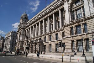 The Old War Office Building along Whitehall, London, UK. Source: https://commons.wikimedia.org/wiki/File:Old_War_Office_Building,_Whitehall,_London,_UK_-_20130629.jpg