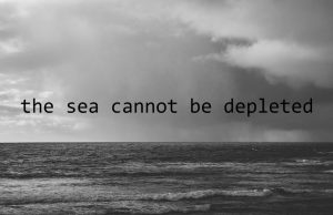 the sea cannot be depleted [http://theseacannotbedepleted.net]