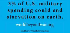 © World BEYOND War. Source: https://worldbeyondwar.org/billboardsproject/