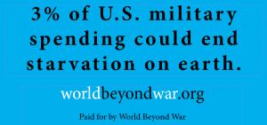 © World BEYOND War. Source: https://worldbeyondwar.org/billboardsproject/